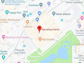 2 trains evacuated in Barcelona after possible bomb found