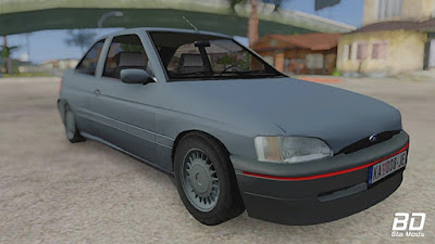 Download mod carro Ford Escort MK6 2004 para GTA San Andreas, GTA SA Jogo PC