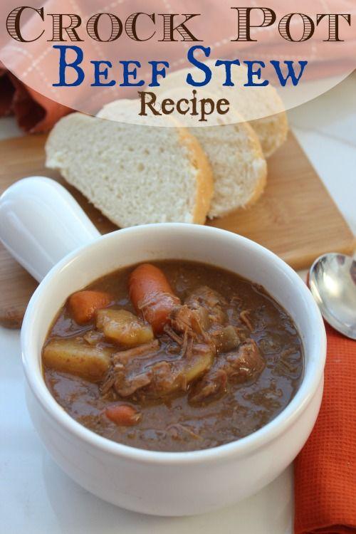 crock pot beef stew recipe!