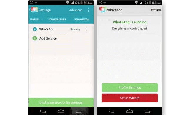 شرح بالصور طريقة تشغيل حسابين whatsapp على هاتف واحد ورقم واحد بدون روت