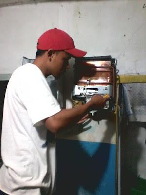 service water heater malang