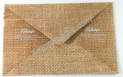 desain undangan pernikahan soft cover