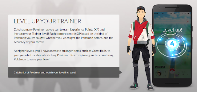 Pokémon GO male trainer art confidential Niantic official artwork concept public level up
