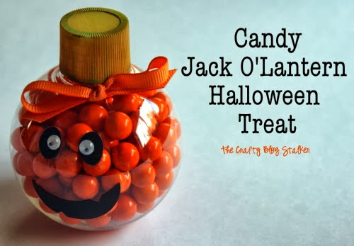 Candy Jack O Lantern from The Crafty Blog Stalker
