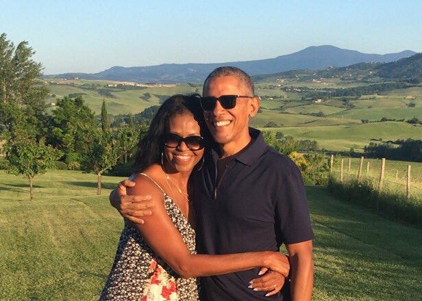 President Obama and Michelle Obama's Valentine's Day Messages to Each Other Are Perfect