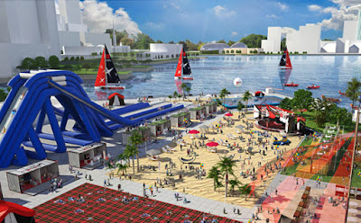 Source: DBS. Concept graphic of the DBS Marina Regatta.