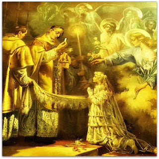 'Primeira Comunhão de Santa Teresinha', Aldo Locatelli (1952) - Igreja Santa Teresinha