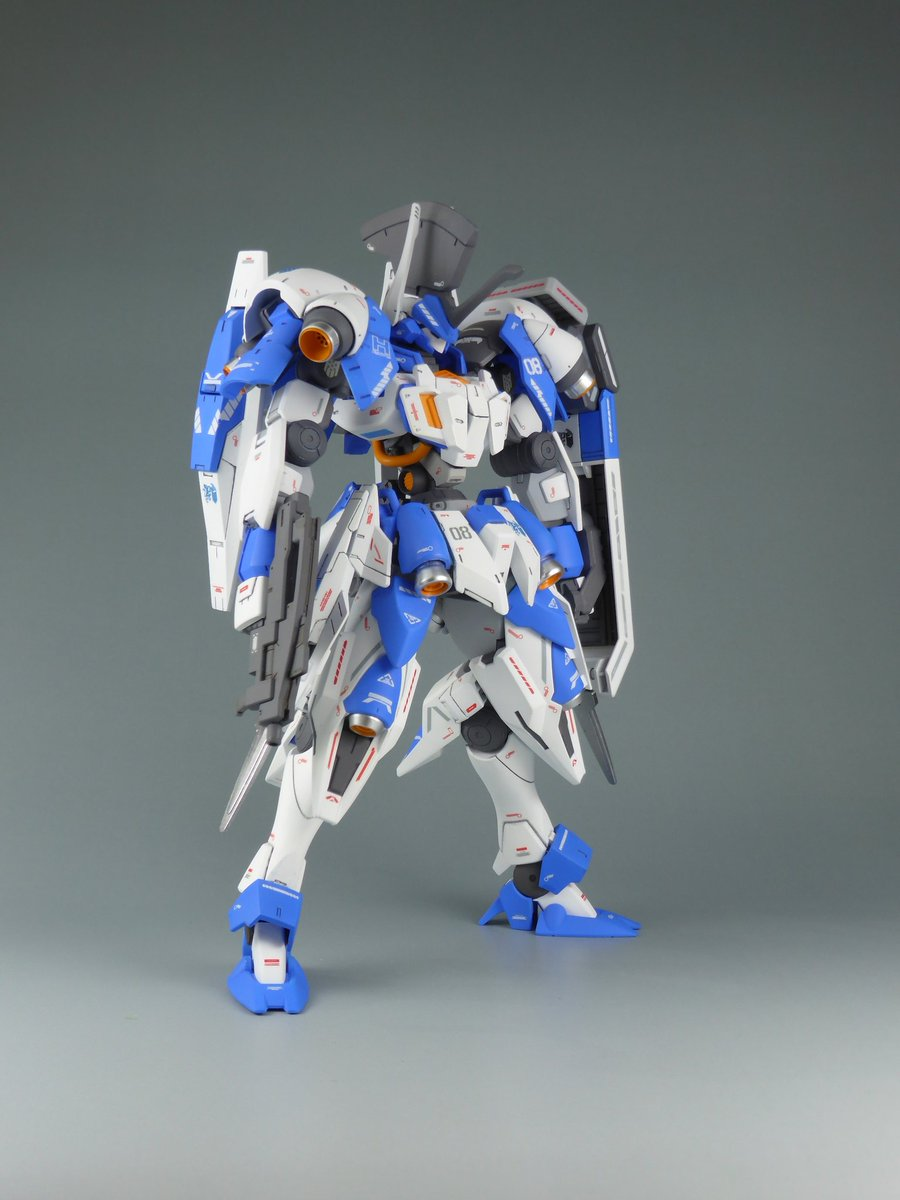 """Custom Build: HG 1/144 Helmwige """"Ritter"""" - Gundam Kits Collection News and Reviews"""