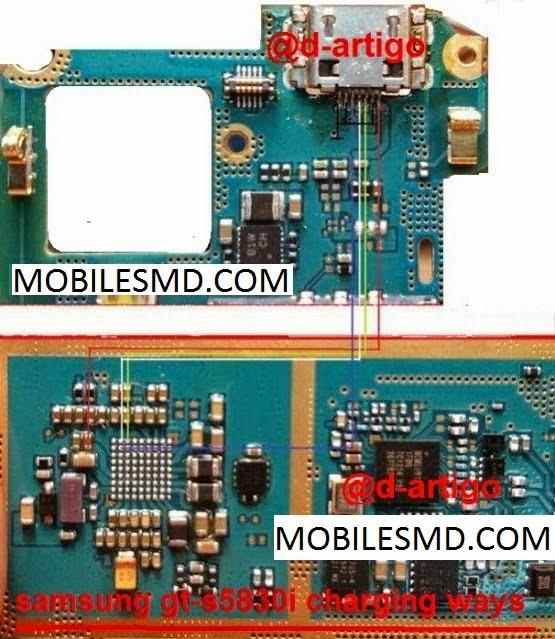 Samsung S5830I Charging Solution | Mobile Solution