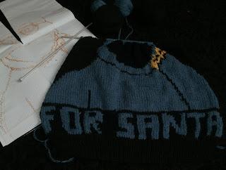 świąteczny sweter z Ciasteczkowym Potworem