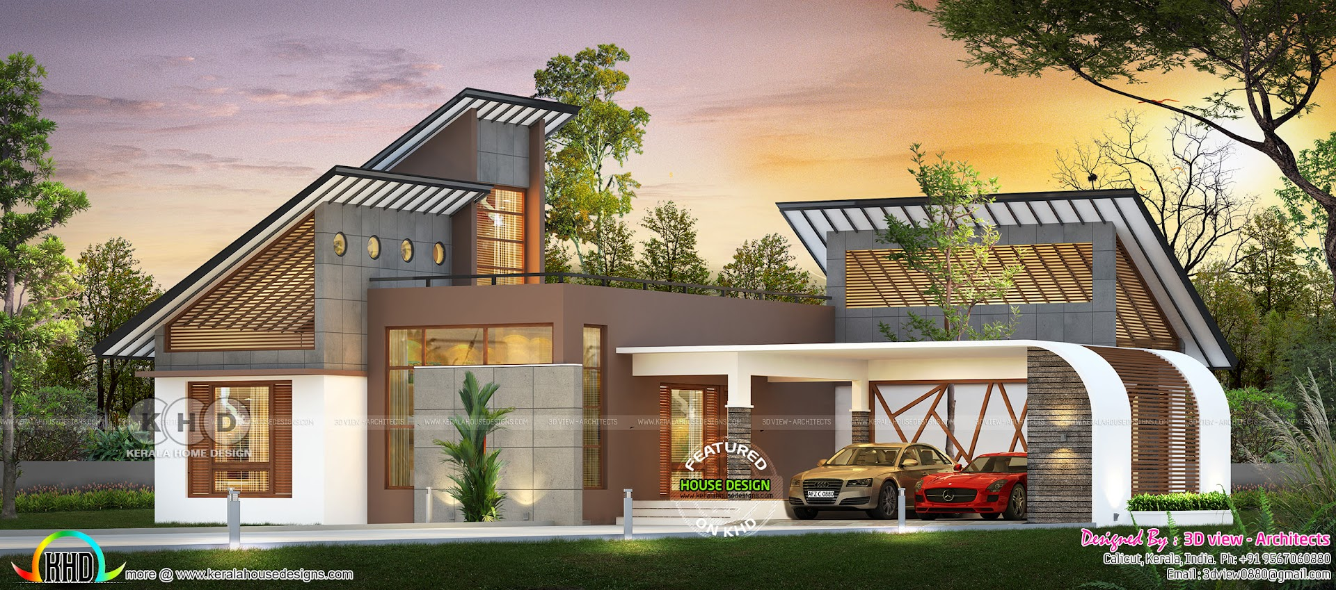 Single Floor Ultra Modern Home 1420 Square Feet