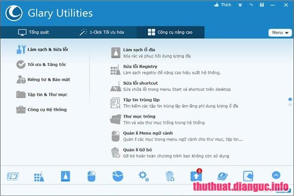Download Glary Utilities Pro 5.112.0.137 Full Cr@ck – Phần mềm tăng tốc máy tính