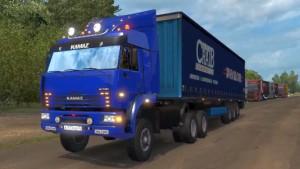 Kamaz 6460 truck mo 1.5