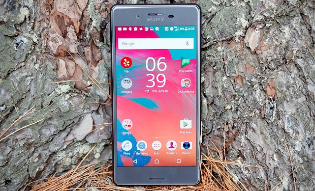 معاينة هاتف Sony Xperia X