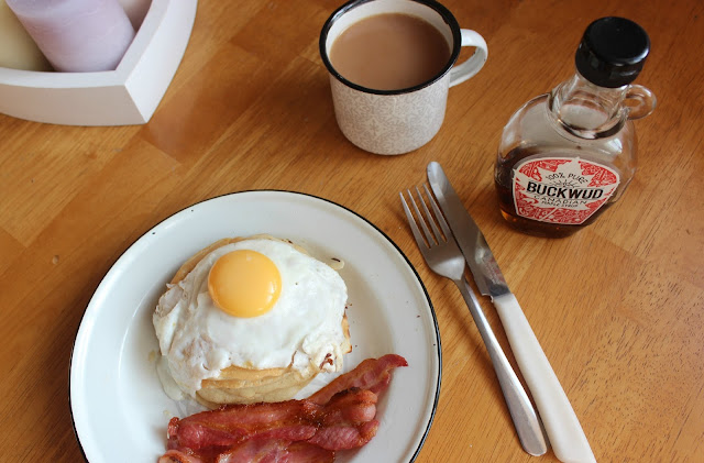 A picture of easy American pancakes