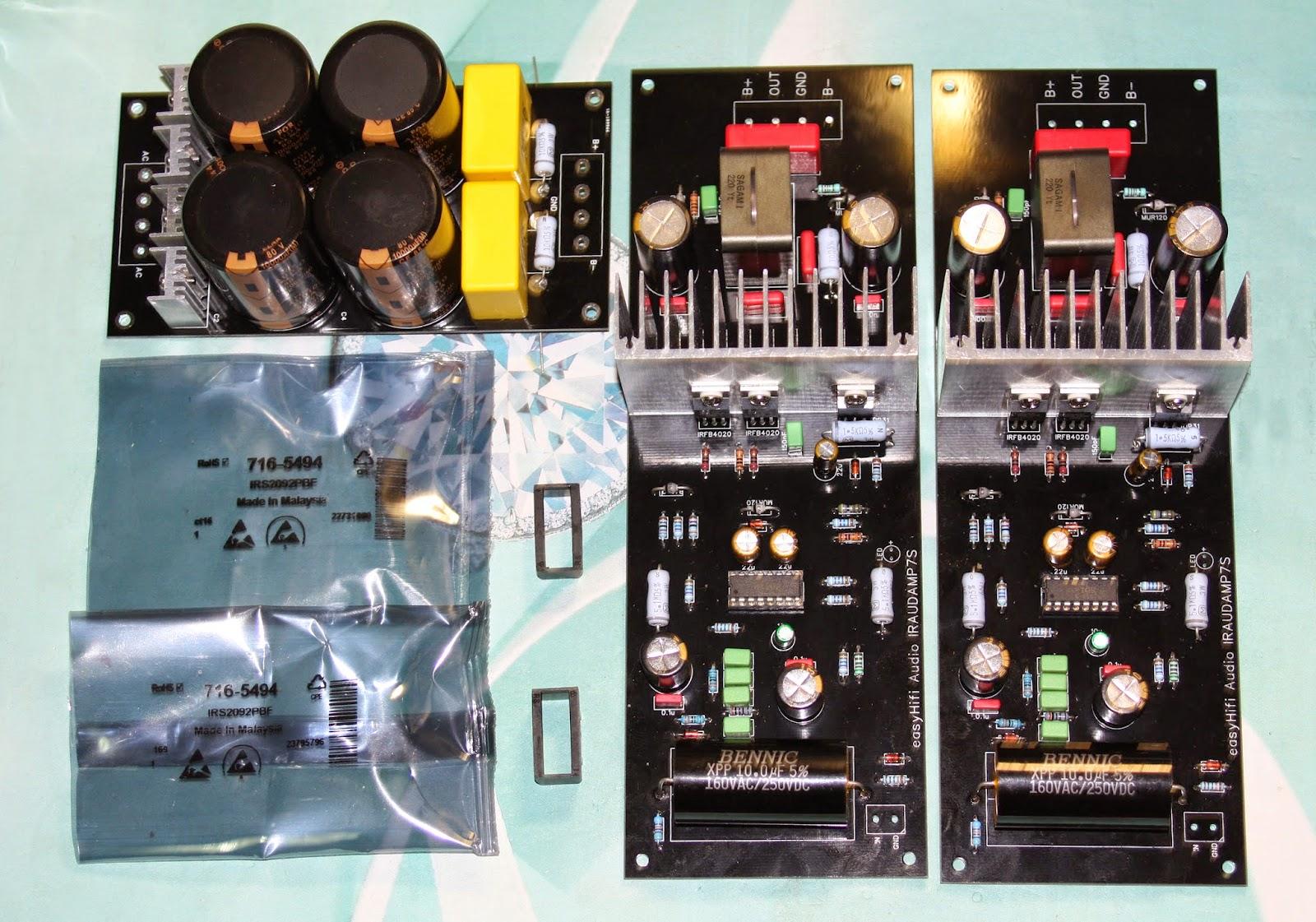 IRS2092 DAMP 裝機報告II | 吉鵬音響工作坊