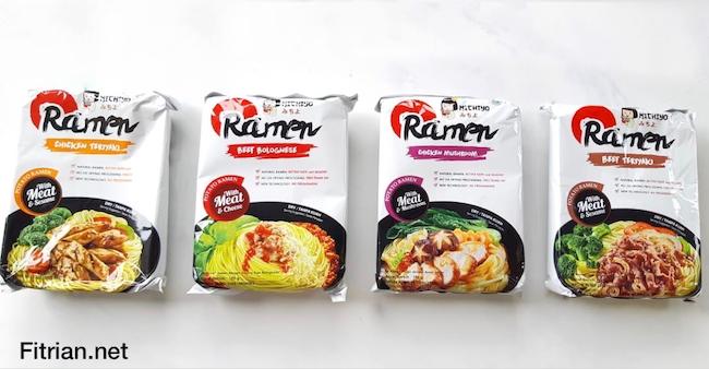 Michiyo Ramen Cara Makan Ramen Lebih Istimewa