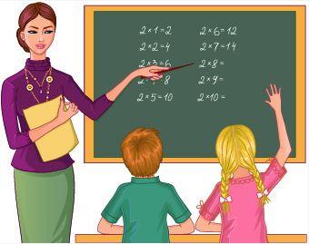 profesora alumnos clase