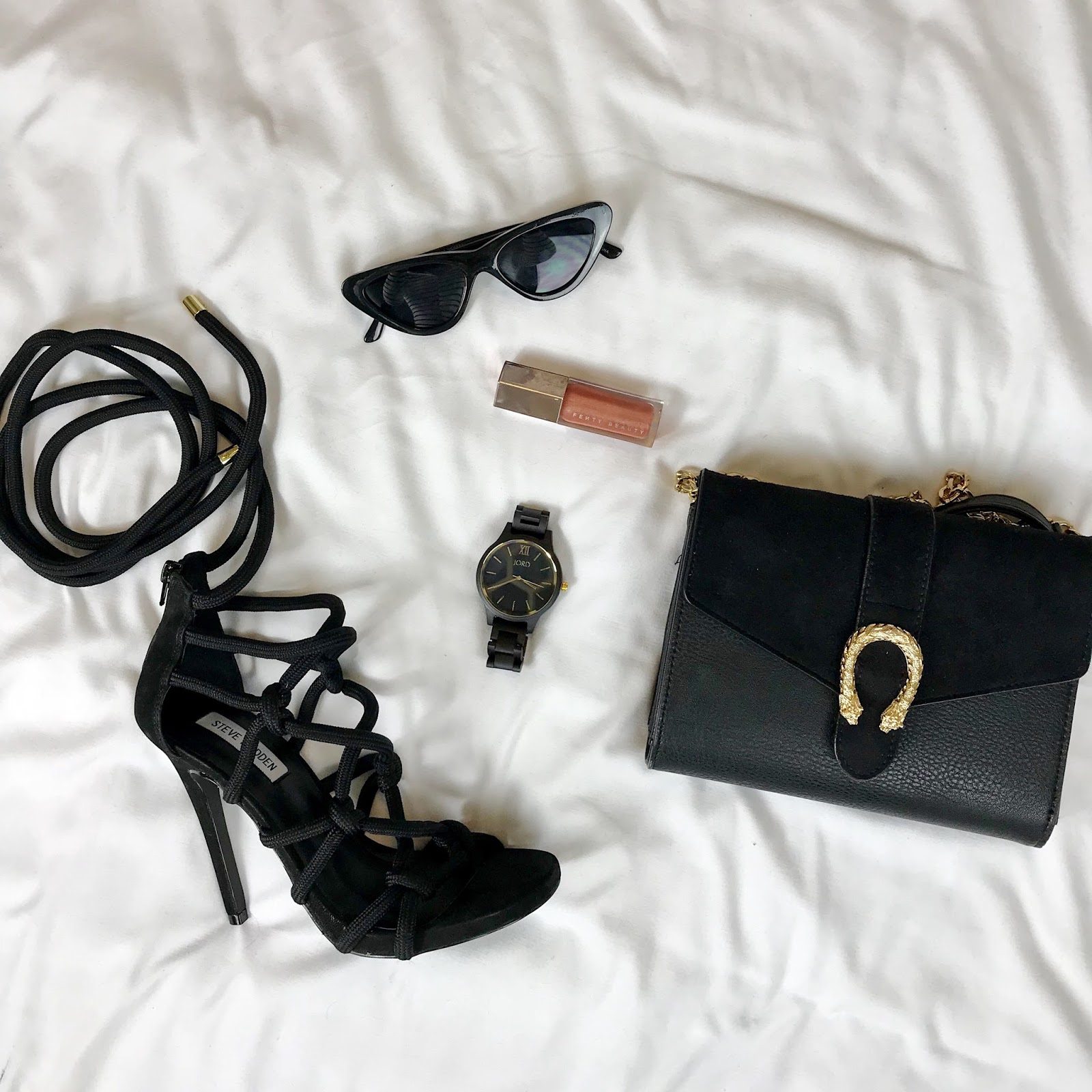 Jord Wood Watch Flatlay