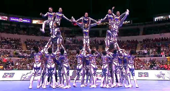 Champion NU Pep Squad Cheerdance Competition (CDC)