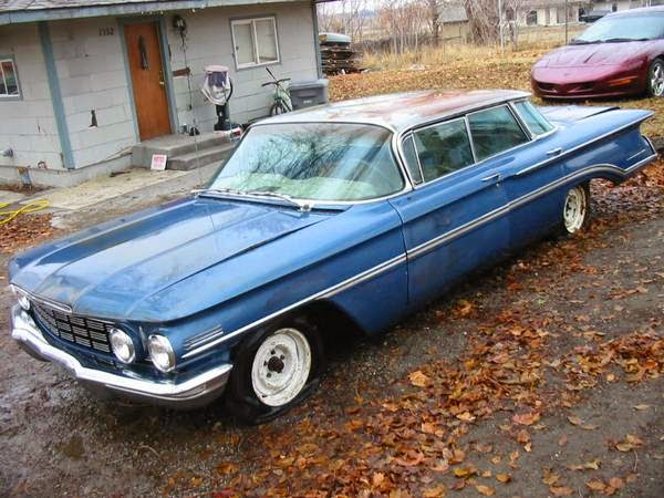 Restoration Project Cars Classic Project 1960 Oldsmobile 98 Sedan