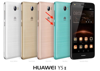 come salvare screenshot huawei y5ii