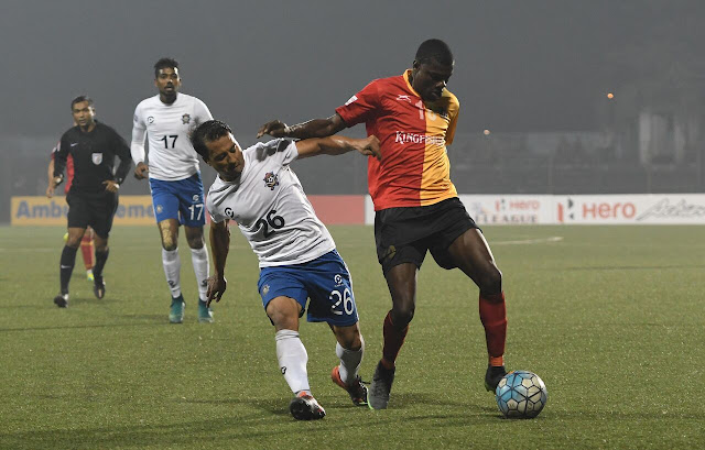 Hero I-League 2016-17: East Bengal remain top of I-League
