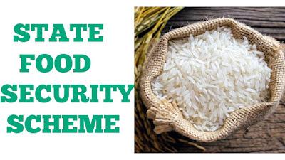 State Food Security Scheme in Odisha