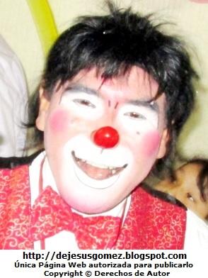Foto a la cara pintada de un payaso por Jesus Gómez