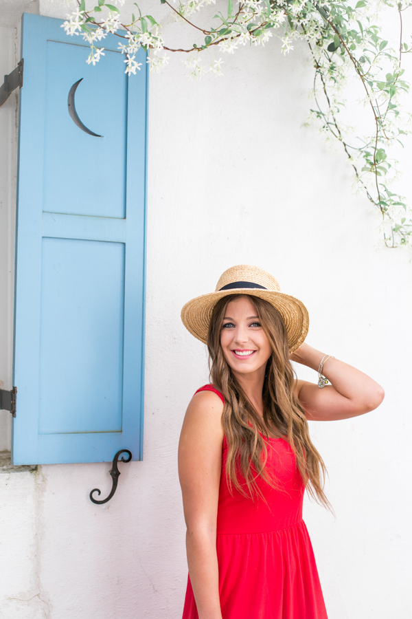 Red Dress with Straw Hat - 3 Reasons To Wear Midi Dresses This Summer
