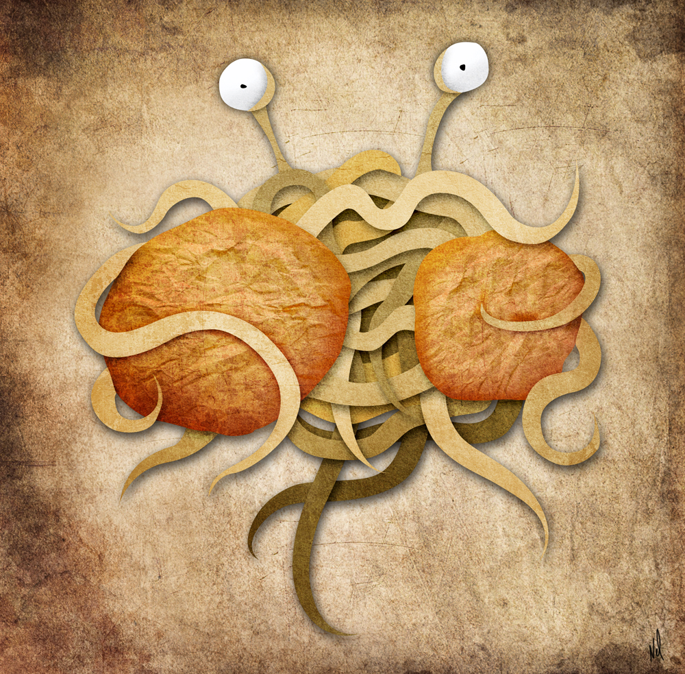 aPanda Studio: Flying Spaghetti Monster