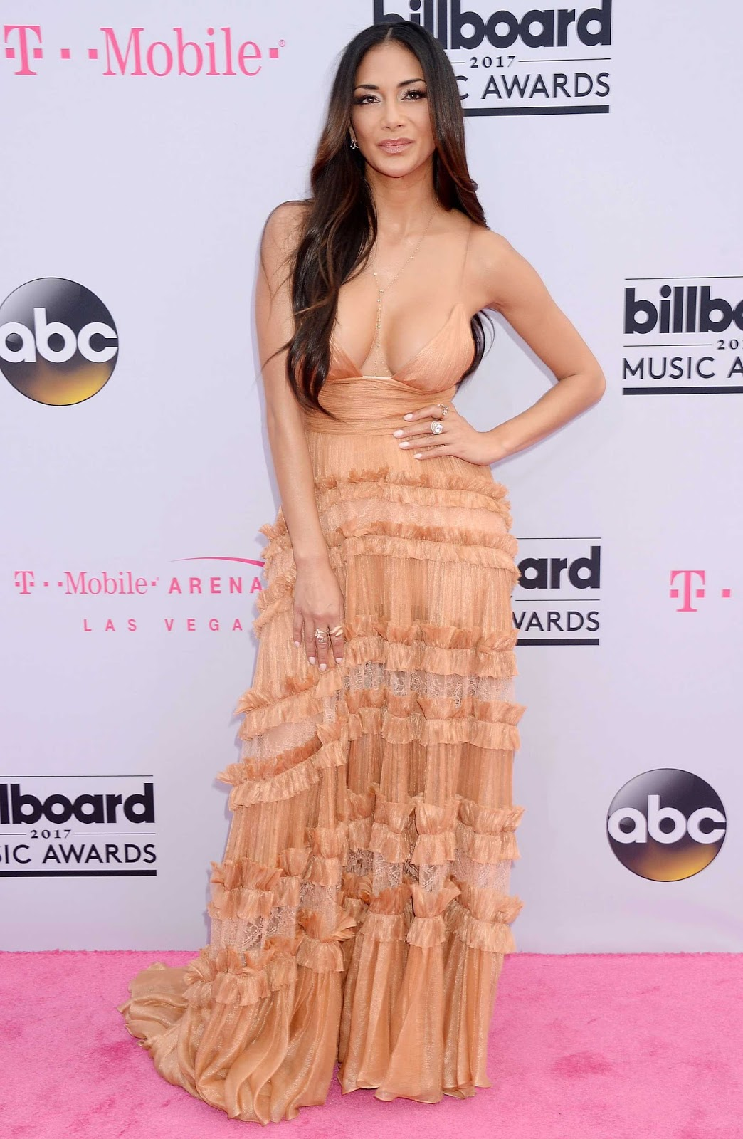 Nicole Scherzinger at 2017 Billboard Music Awards in Las Vegas