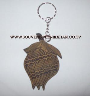 Souvenir Pernikahan Gantungan Kunci Batik Jogjakarta 19
