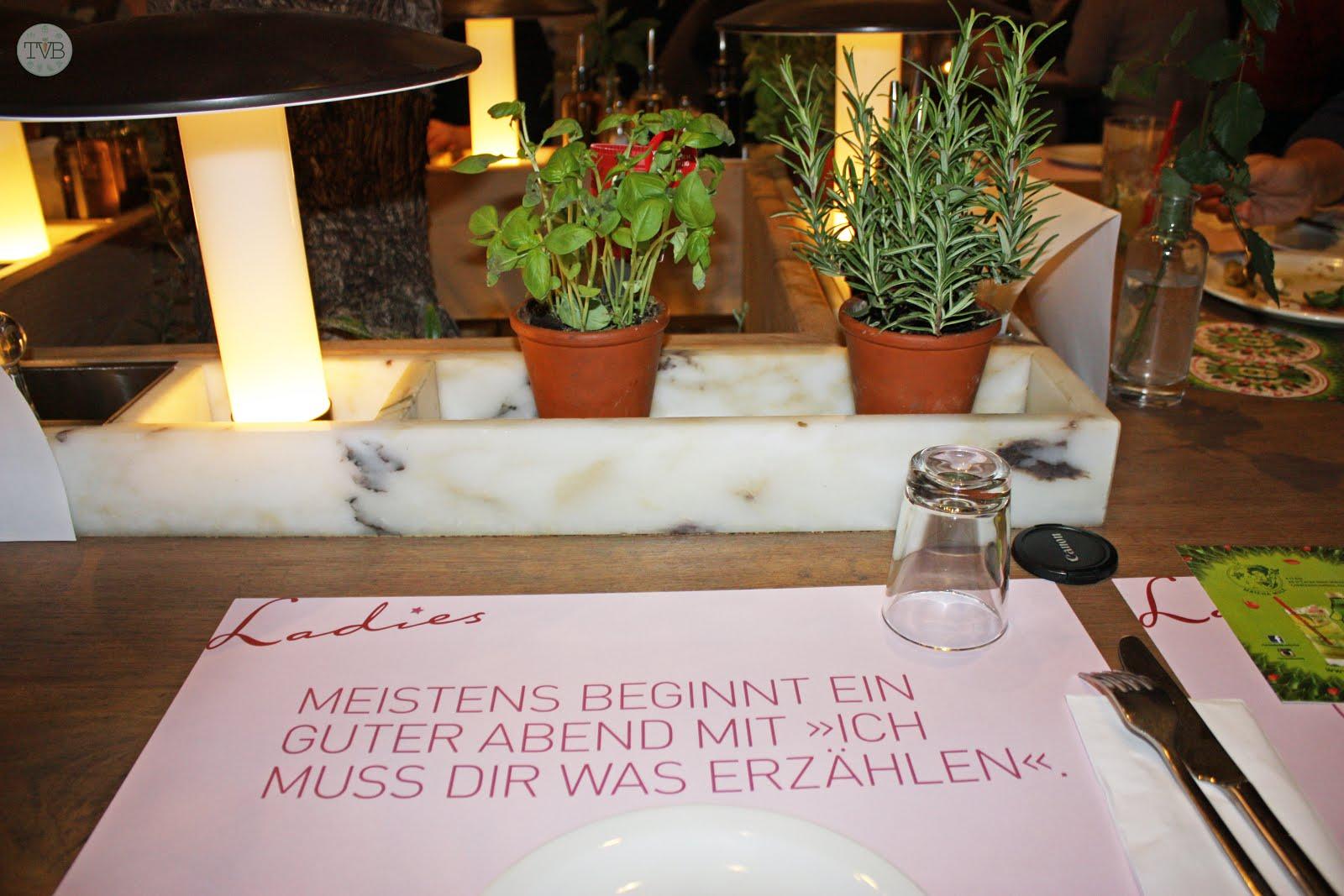 Vapiano Ladies Night Fma Tschaakiis Veggie Blog