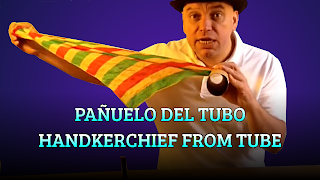 Pañuelo del tubo, OPTICAL ILLUSION, Handkerchief from tube