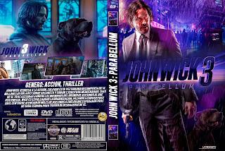 JOHN WICK 3 PARABELLUM – JOHN WICK CAPITULO 3 – 2019 [COVER DVD + BLU RAY]