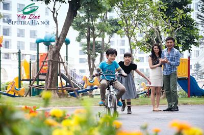 Tận hưởng cuộc sống tại The Link Nam Thăng Long