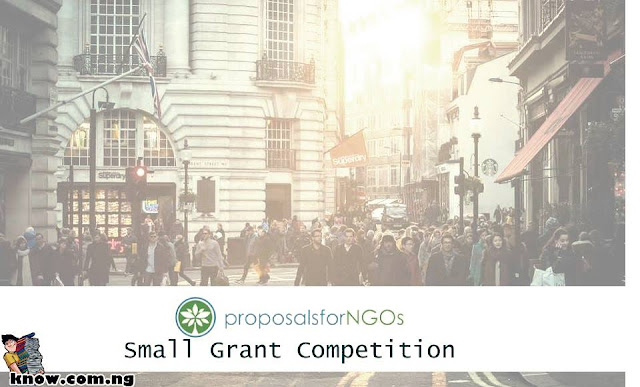 How To Apply For The ProposalsforNGOs Small Grant Competition