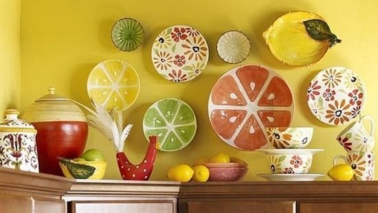 Lemon Decorations For Kitchen
