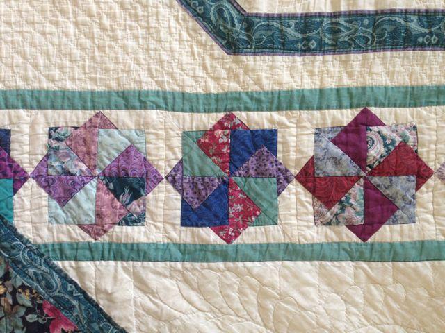 Ann Quilts Card Trick Quilt
