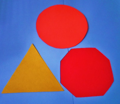 Learning Ideas - Grades K-8: 2D Shape People Crafts Activity