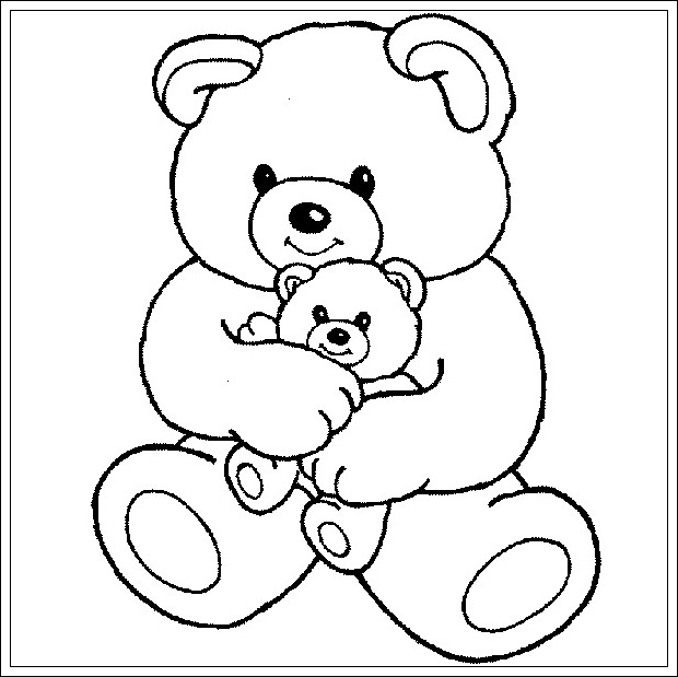 ausmalbilder zum ausdrucken ausmalbilder teddyb r zum ausdrucken. Black Bedroom Furniture Sets. Home Design Ideas