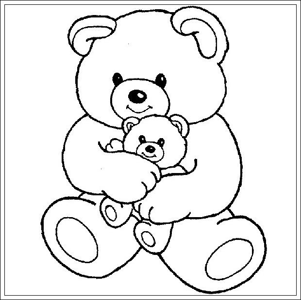 Really Cool Toys For Adults : Ausmalbilder zum ausdrucken teddybär