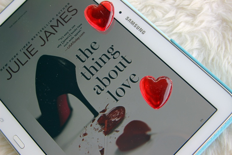 "Julie James ""The Thing About Love"""