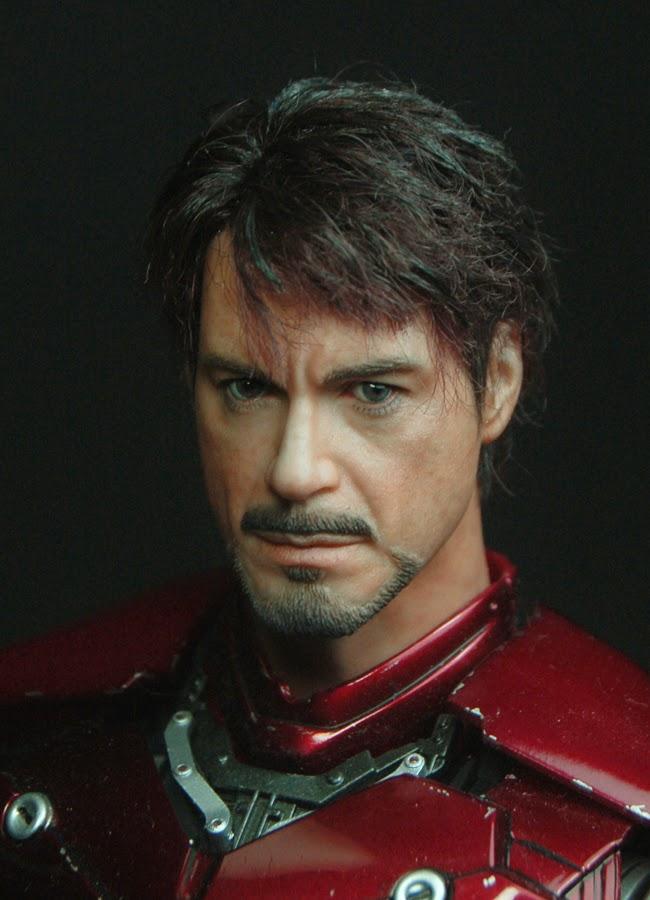 Tony Stark Creating New Element Scene - Iron-Man 2 (2010 ...  |Tony Stark Iron Man 2 Hair