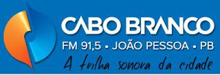 Rádio Cabo Branco FM de João Pessoa PB