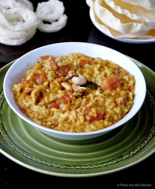 Thakkali Sadam / Tomato Rice ~ Day 58
