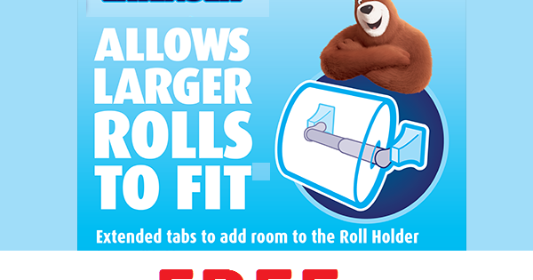 Free Toilet Paper Mega Roll Extender Spindle Heavenly Steals