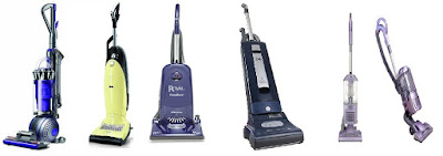 Upright Vacuum Cleaners Miele, Riccar, Dyson, Sebo, Royal, Shark, Cirrus