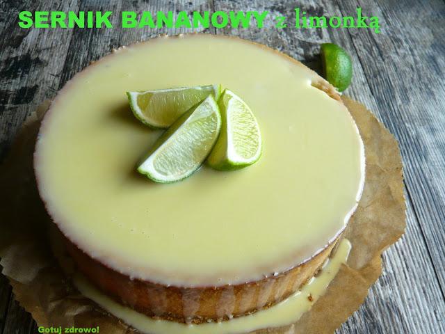 Sernik bananowy z limonką - Czytaj więcej »